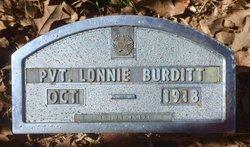 Pvt Lonnie Burditt