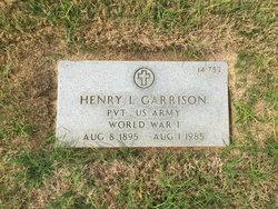 Henry L Garrison