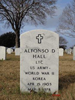 Alfonso D Hall