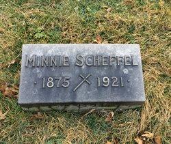 Minnie <I>Wueroch</I> Scheffel
