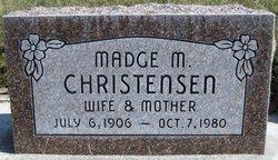 Ella Madge <I>McClellan</I> Christensen