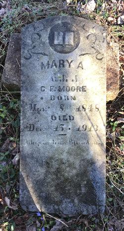 "Mary Ann ""Mollie"" <I>Nuckolls</I> Moore"
