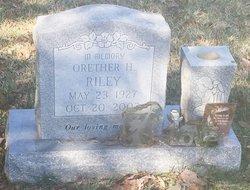 Orether H. Riley