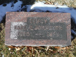 "Earl R ""Tincy"" Johnston"