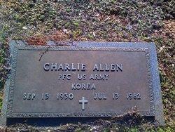 PFC Charlie Allen