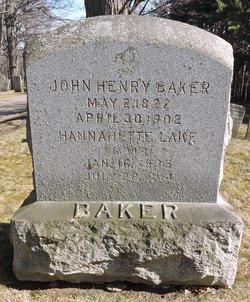 Hannetta <I>Lake</I> Baker