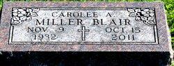 Carolee Anna <I>Miller</I> Blair