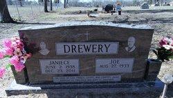 """Inez Janiece """"Jan"""" <I>Smith</I> Drewery"""
