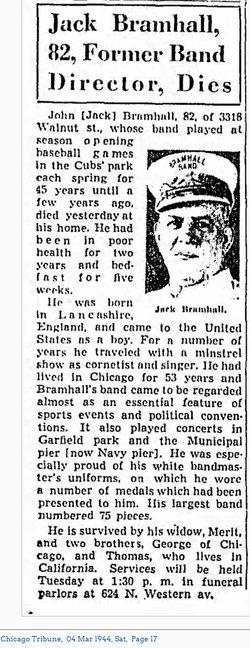 "John ""Jack"" Bramhall"