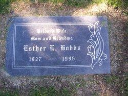 Esther <I>Laguna</I> Hobbs