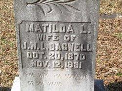 Matilda Rebecca <I>Lankford</I> Bagwell