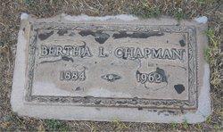 Bertha Lillian <I>Reagles</I> Chapman