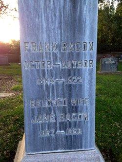 Jane <I>Weidman</I> Bacon