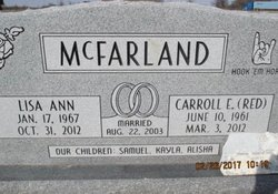 "Carroll Eugene ""Red"" McFarland"