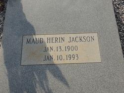 Maud <I>Herin</I> Jackson