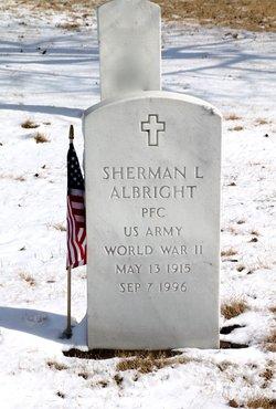 Sherman L Albright
