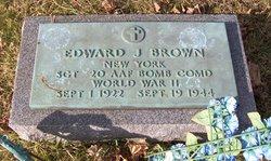 Sgt Edward J Brown