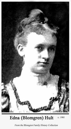 Edna Olivia <I>Blomgren</I> Hult