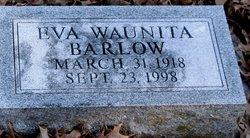 Eva Waunita <I>Mapes</I> Barlow
