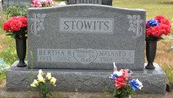 Bertha <I>Wright</I> Stowits