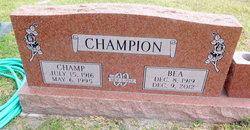 Emma Beatrice <I>Connell</I> Champion