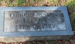 Eunice <I>Hudson</I> Talbot