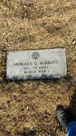 Horace G Aldritt