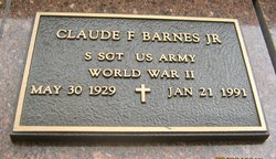 Claude F Barnes, Jr