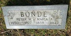 Maria Dorthea <I>Heick</I> Bonde