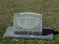 Lillian E <I>Nilsson</I> Chappell