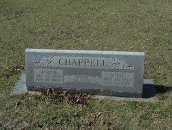 Myrtle Elizabeth <I>Day</I> Chappell