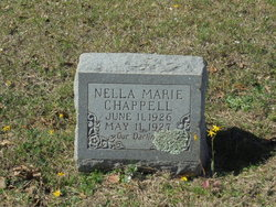 """Nella Marie """"Tiny"""" Chappell"""