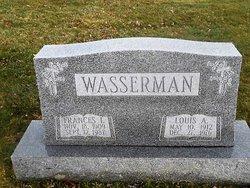 Frances I <I>Patterson</I> Wasserman