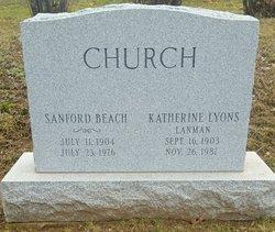 Katherine Lanman Church