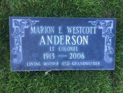 LTC Marion E <I>Westcott</I> Anderson