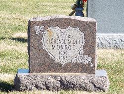 Ida Florence <I>Scott</I> Monroe