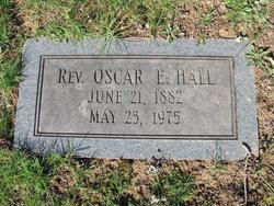 Rev Oscar Edward Hall