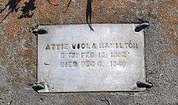 Attie Viola <I>Jackson</I> Hamilton