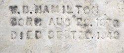 "William Bevely ""Bill"" Hamilton"