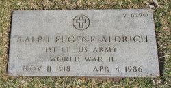 Ralph Eugene Aldrich