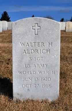 Walter H Aldrich