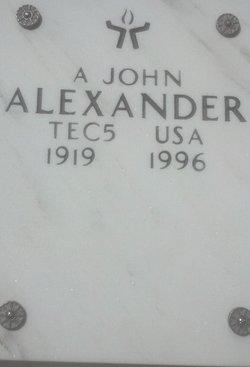 A John Alexander