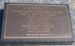 Beryl May <I>Baxter</I> Abbott