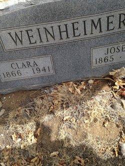 Clara <I>Stiger</I> Weinheimer