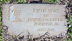Infant Twin Son Johnson
