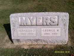 """Permelia Jean """"Jana"""" <I>Jerrell</I> Myers"""