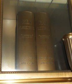 Florence <I>Hess</I> Rea