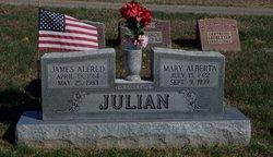 Mary Alberta <I>Miller</I> Julian