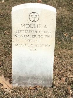 Mollie A Aldrich