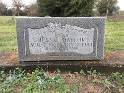 Bessie <I>Thompson</I> Baylor